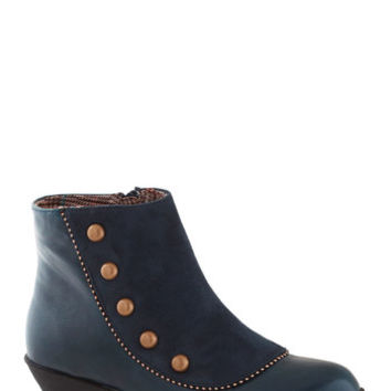 A Liking for Leisure Bootie | Mod Retro Vintage Boots | ModCloth.com