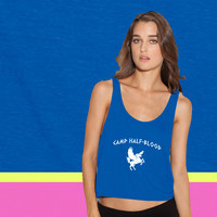 Camp Half-Blood ladies' flowy tanktop