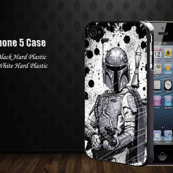 Star Track Fett Bounty Hunter,Iphone 5 case,accesories case,cell phone