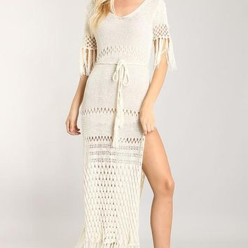 Bora Bora Crochet Maxi Dress