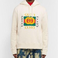GUCCI Fashion Print Long Sleeve Women Men Top Hoodie Sweater Pullover