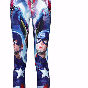 Captain America Fitness LEGGING