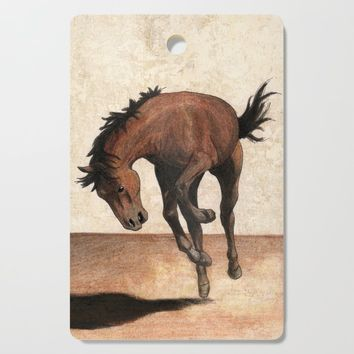 Wild horse Cutting Board by savousepate