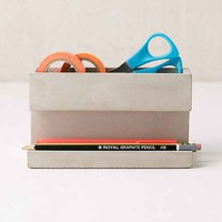 Concrete Jungle Desk Organizer