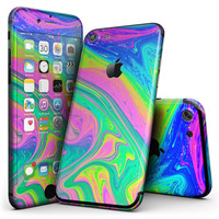 Neon Color Fushion V3 - 4-Piece Skin Kit for the iPhone 7 or 7 Plus
