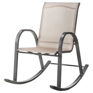 Room Essentials™ Nicollet Sling Patio Rocking Chair - Tan