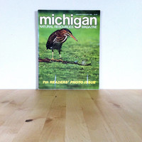 Michigan Natural Resources Magazine Jan/Feb - 7th Photo Issue {1989} Vintage Magazine