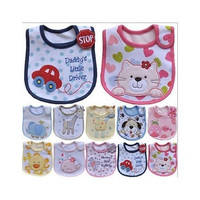 Cartoon Baby Bandana Bibs Waterproof Cotton Babador Carters Kids Dinning Bib Bandana Bibs Baberos Infant Burp Cloths [8322965633]