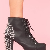 Spike Platform Boot in Shoes at Nasty Gal