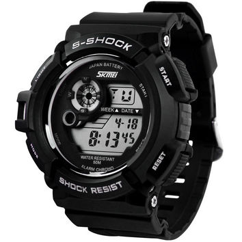 G Style Digital S Shock Men Military Army Watch with LED Water Resistant Date Calendar