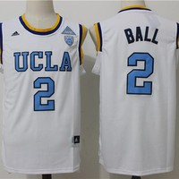 Best Sale Online NCAA University Basketball Jersey UCLA Bruins  # 2 Lonzo Ball White
