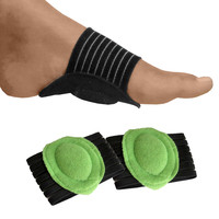 2 Pack - Cushioned Arch Supports - Comfortable & Durable For Feet-Green