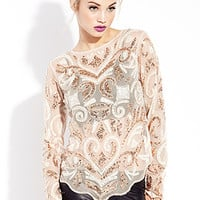 Glammed Out Sequin Top
