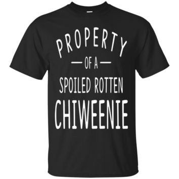 Chiweenie Funny Dog Shirts for Men Women Dog Owners