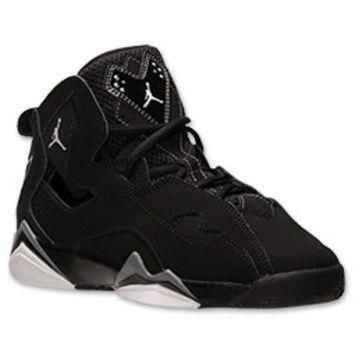 Boys' Grade School Jordan True Flight Basketball Shoes
