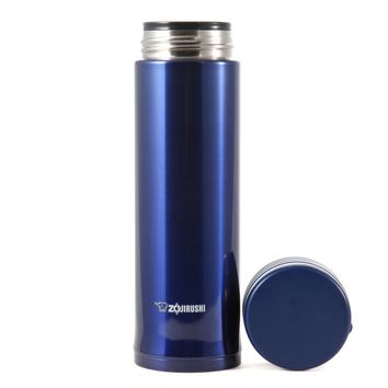 Zojirushi Thermal Vacuum Insulated Travel Mug Cup 0.48L Blue Coffee Tea Hot/Cold
