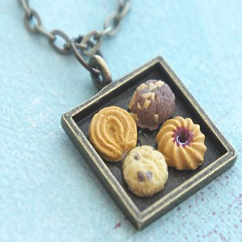 cookie sampler necklace