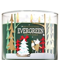 3-Wick Candle Evergreen