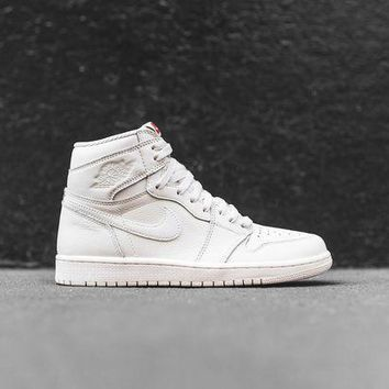 Nike Air Jordan 1 Retro High Og   Sail / Red