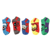 Marvel Heroes Kawaii No-Show Socks