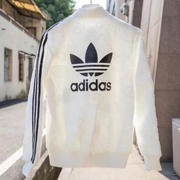"""Adidas"" Women Fashion Cardigan Jacket Coat Sweatshirt"