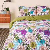 Blooms for Your Room Duvet Cover in Full