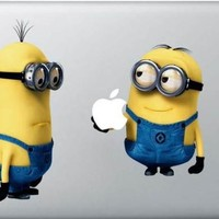 Despicable Me Decal - Vinyl Macbook / Laptop Decal Sticker Graphic