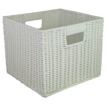 "Woven Plastic Storage Cube 11"" - Room Essentials™ : Target"