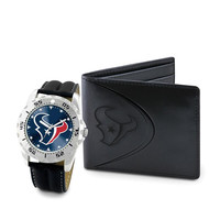 Houston Texans NFL Men's Watch & Wallet Set