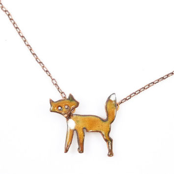 Funny Fox Necklace