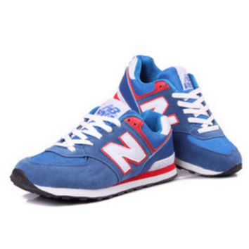 NEW BALANCE Women Men Casual Running Sport Shoes Sneakers Blue