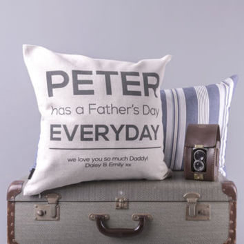 'Father's Day Everyday' Cushion Cover