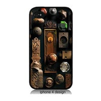 Antique Door Knob iphone 4 case, iphone 4 cover