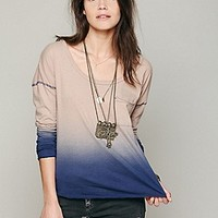 Free People  We The Free Fun Dip Tee at Free People Clothing Boutique