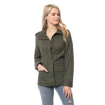 Utility Jacket in Olive