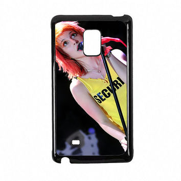 Hayley Williams Paramore Singer Galaxy Note Edge Case