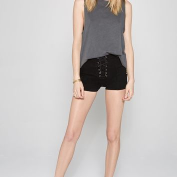 AMUSE SOCIETY - Daisy Chain Short | Black