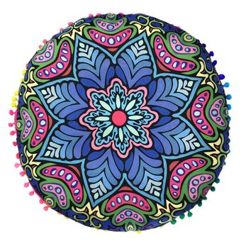 7 patterns new Indian Mandala Floor Pillows  6