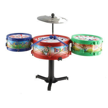 Children Musical Instruments Toy Kids Drum Kit Set = 1945807428