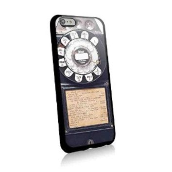 Pay Phone Antique Vintage for Iphone and Samsung Galaxy Case (iphone 6 black)