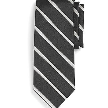 Extra-Long BB#3 Repp Tie - Brooks Brothers