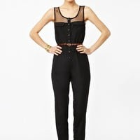 Mad Mesh Jumpsuit