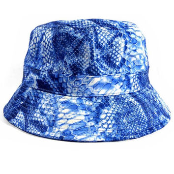 Venom Bucket Hat in Blue