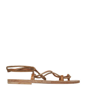 K Jacques St Tropez Homere leather sandals