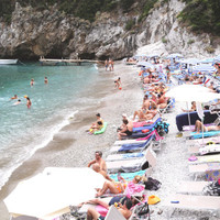 Conco del Sogno, Amalfi Coast, Capri Beach, Italian Photography, Beach Art, European Coast