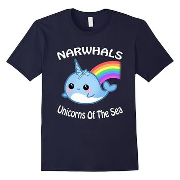 Narwhals Unicorns of the sea Shirt