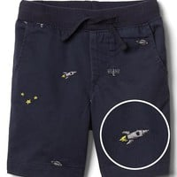 Space embroidery pull-on short | Gap