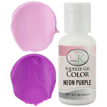 Neon Purple CK Gel Paste Food Coloring