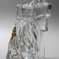 Lenox Crystal Bride and groom