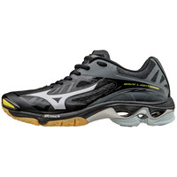 Mizuno Wave Lightning Z2 Men's Volleyball Shoes - Black Silver